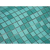 Cheap Blue mixed swimming pool rubber tile