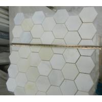 Wholesale Wholesale Top Quality Natural White Marble Mosaic on Sale from china suppliers