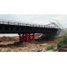 Buy cheap Double lane Bailey Bridge / Modular Steel Panel Bridge/ steel truss modular bridge from wholesalers