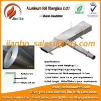 Buy cheap Hot sell Aluminum foil fiberglass cloth for pipeline from wholesalers