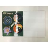 Wholesale Flip Effct 3D 0.6 MM PET Custom 3D Lenticular Stickers With CMYK Printing from china suppliers
