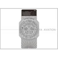 Wholesale Plastic Aviation Flight Computer Wheel E6B Plotter with Cardboard for Classroom Pilot Students Cya Brand from china suppliers