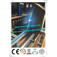 Corrugated web assembling for H beam production line , H beam corruagated welding machine