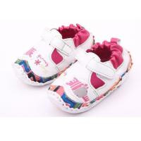 China soft sole baby walking shoe TPR insert sole mark thread sole special design toddle lovely styles on sale