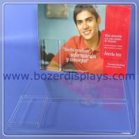 Wholesale Acrylic Wallmount Sign Holder with Brochure Pocket from china suppliers