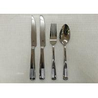 Buy cheap Stainless Steel 304# Flatware Sets Of 20 Pieces Steak Knife Dinner Fork Serving Spoon from wholesalers