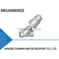 Buy cheap JDF700 Threaded Pneumatic Angle Seat Valve , Angle Type Control Valve from wholesalers