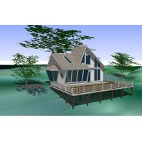 Wholesale Smooth Wood Plastic Composite House Waterproof for WPC Construction from china suppliers
