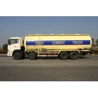 Wholesale 8x4 27cbm Dry Bulk Truck Low Alloy Steel For Flour , Bulk Cement Transportation from china suppliers