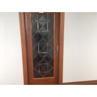 """Wholesale Door Decorative Panel Glass 22""""*64"""" Black Patina Natural Wood Style from china suppliers"""