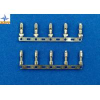 Quality Tin - Plated / Gold - Flashed Brass Crimp Terminal Connector 2478 Equivalent 18 - 24 AWG for sale