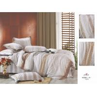 Wholesale Plum Brown Stripe Full Size OEM 100 % Cotton Home Colorful Bedding Set from china suppliers