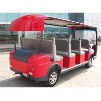 Wholesale Red Pure Electric Power City Sightseeing Bus For 11 Passenger / Tourist from china suppliers