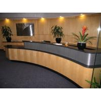 Wholesale top polish elegant stylish solid surface bar reception desk from china suppliers