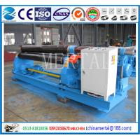 Wholesale MCLW11-10*2500 Mechanical three roller plate bending/rolling machine export Indonesia from china suppliers