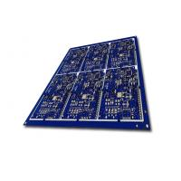 Wholesale 1 OZ Copper 1 Layer pcb fabrication prototype Blue Solder Mask from china suppliers