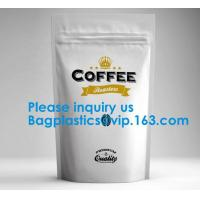 Wholesale High Barrier 16 oz Foil Stand up Zipper Pouch Coffee Bag with Valve,Resealable Food Storage Zipper Plastic Bag,Jar Kraft from china suppliers