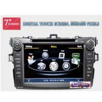 Wholesale Car Stereo GPS Sytem GPS SatNav Navi Headunit Multimedia for Toyota Corolla (2007-2013) from china suppliers