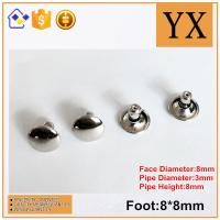 Quality High Quality Bright Nickel Plate 8mm Metal Rivet For Decoration for sale