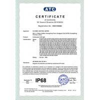 IN HOME LIGHTING LIMITED Certifications