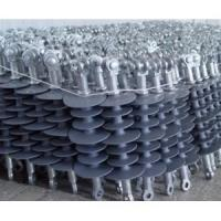 Buy cheap Cheapest price silicon rubber electric railway suspension insulator and grey color Polymer insulator from wholesalers