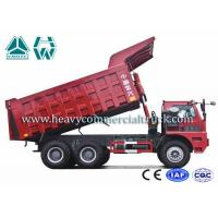 Quality Electric Control 70 Ton Mining Dump Truck HOWO Sinotruk Low Fuel Consumption for sale