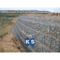 Wholesale Galvanized Wire Gabion Retaining Walls Plastic or Stainless Steel Wire PE Coating Gabion Mattress from china suppliers