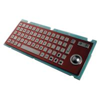 Wholesale ZT599L PS/2 or USB IP65 EPP Keyboard, Industrial Kiosk Metal Keyboard from china suppliers