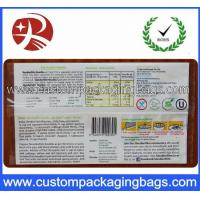 Quality Laminated Instant Noodles Plastic Food Custom Packaging Bags , 3 Sides Heat Seal for sale