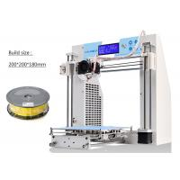 Wholesale High - End Reprap Prusa 3D Printer Wood Filament SD Card For Rapid Prototyping from china suppliers