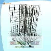 Wholesale 4 sides Metal Display rack from china suppliers