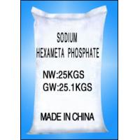 Wholesale White Granular Crystal, Sodium Hexametaphospha CAS No.10124-56-8 Water Treatment Chemicals from china suppliers