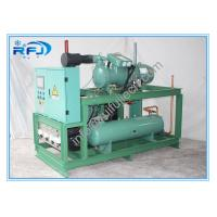 Wholesale Air Cooled single screw type compressor refrigerating condensing unit Rack High Temperature from china suppliers