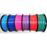 Buy cheap best quality PLA ABS 3d printing 1.75mm 3mm plastic wire on sale from wholesalers
