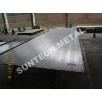 Wholesale SB265 Gr.2 Titanium Clad Plate for Flue Gas Desulfurization FGD from china suppliers
