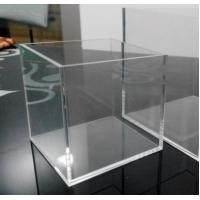 Wholesale Large Clear Solid Acrylic Storage Container Box With Flexible Lid from china suppliers