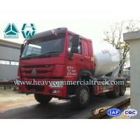 Wholesale HOWO 6X4 Concrete Mixer Truck Anti Coagulation Concrete Mixing Truck from china suppliers