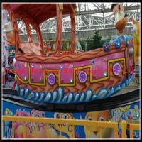 Wholesale directly factory produce kids indoor park rides flying ship for sale from china suppliers