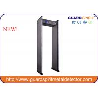 Wholesale 255 level sensitivity Security Metal Detector Gate , door frame Metal Detector with Backup Battery from china suppliers
