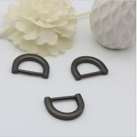 Buy cheap Handbag accessories zinc alloy gun metal color 19.4mm D-ring for Sale from wholesalers