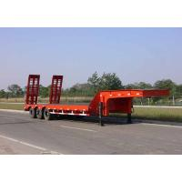Wholesale Heavy duty trailer low bed semi trailer 3 / 4 / 5 axles 50 / 80 / 100 tons from china suppliers