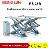Wholesale 4 cylinder full rise scissor car lift piccolo di sollevamento idraulico from china suppliers