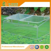 Wholesale 100x 60 x 40cm Silver Color Cold Frame Series Aluminum Greenhouse from china suppliers