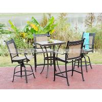 Wholesale BMLQ13176 sling alumicast bar height chair hot sale design chair from china suppliers