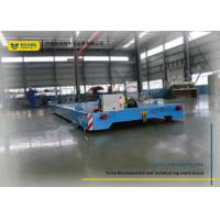 China Blue Towed Cable Automated Guided Vehicles / Electric Transfer Cart 4t on sale