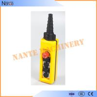 Wholesale Yellow / Black ABS Waterproof IP65 Hoist Pendant Control Crane Remote Control from china suppliers