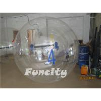 Wholesale OEM PVC or 0.8MM TPU Transparent Inflatable Water Walking Ball  with Numbers from china suppliers
