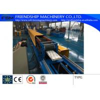 Wholesale Automatic PU Sandwich Rolling Shutter Roll Forming Machine 0.5-0.8mm Thickness from china suppliers