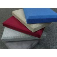 Wholesale Leather Fabric Acoustic Panel  from china suppliers