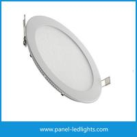 Wholesale CE RoHS 12W recessed led panel light round 240LM 3 years Warranty from china suppliers